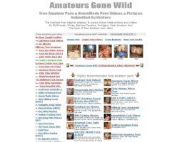 Amateurs Gone Wild